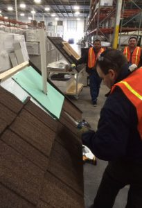 Metal Roofing installation training provided by DECRA and Wimsatt