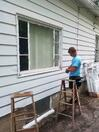 Replacing windows during One Week One Street