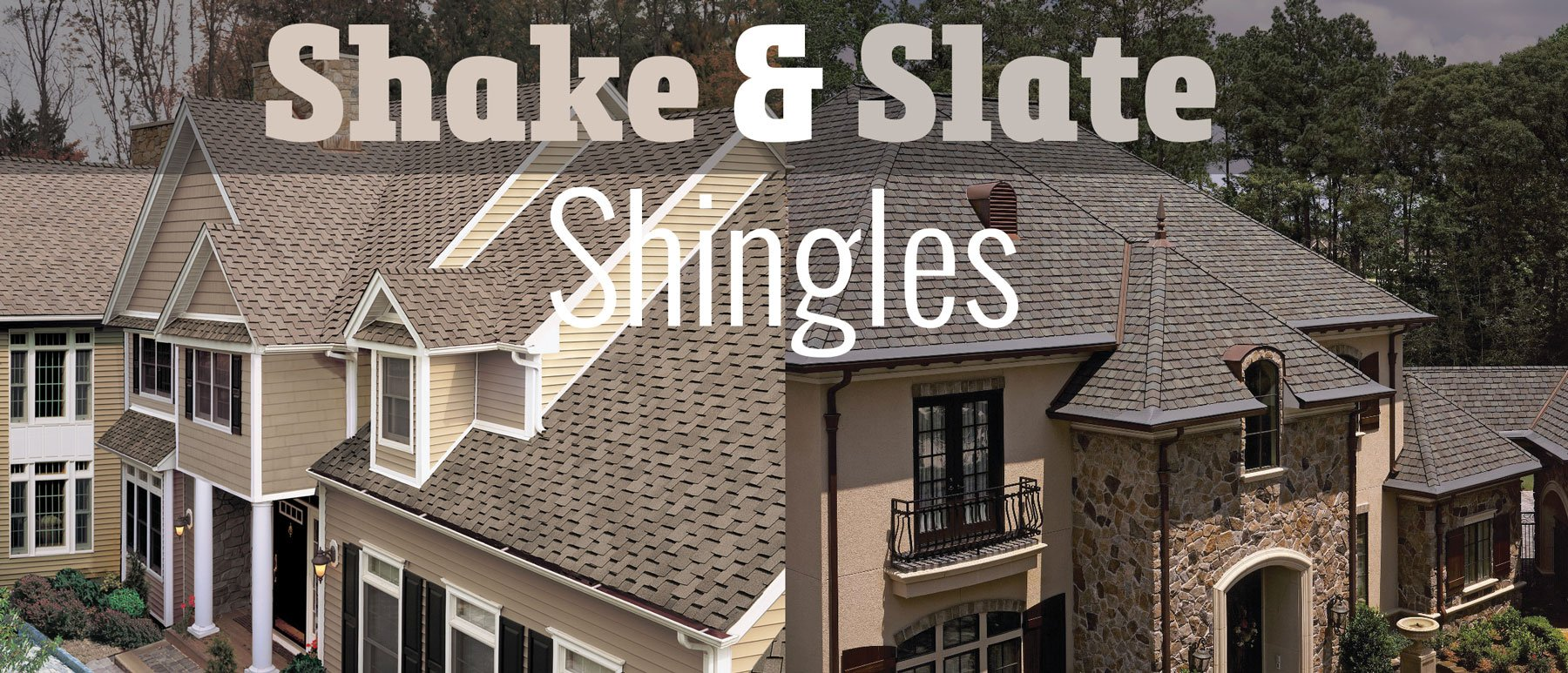 Top 5 Shake- and Slate- Look Shingles in Michigan