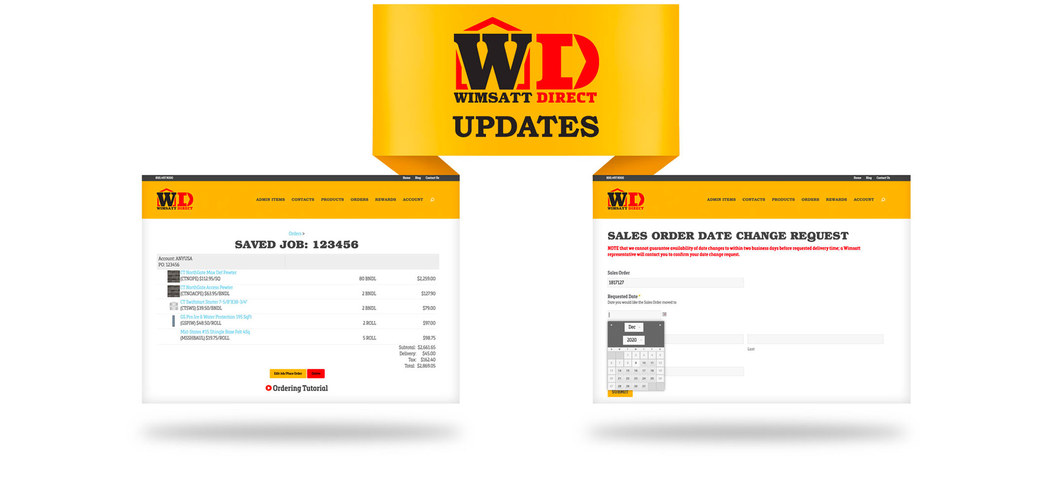 New Features in WimsattDirect for 2021!